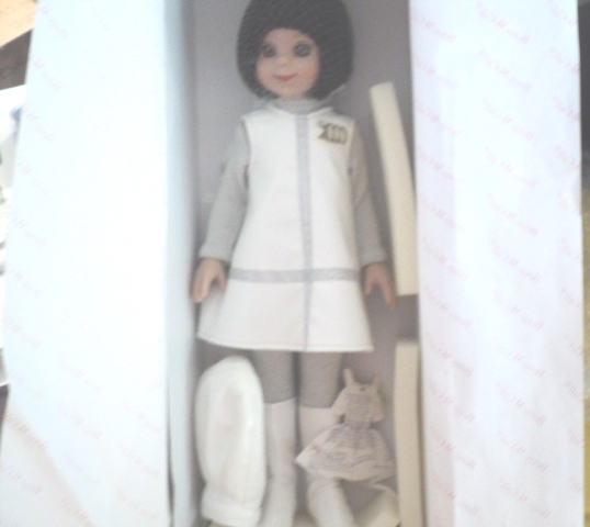 2000 14 Betsy Mccall Millenium Robert Tonner Doll White Silver Outfit In Box 1970s Onward Baby To Fashion Dolls