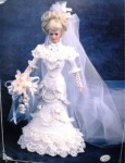 1996 bridal full view barbie