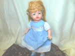 50s vinyl doll blue main
