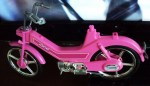 BARBIE BIKE PINK MOPED 2