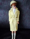 BARBIE REDHEAD 5 YELLOW COAT