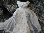 BARBIE WHITE BRIDE DRESS TIERS MAIN