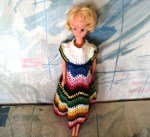 BLONDE FASHION DOLL CROCHET