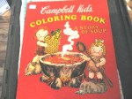 CAMPBELL KIDS COLOR BOOK CVR