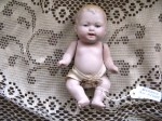 CHUBBY BLONDE BISQUE BABY DOLL,DRESS_03