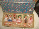 E GERMAN DOLLS IN BOX