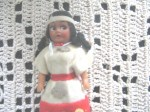 NATIVE FELT DOLL
