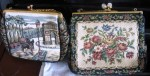 TAPESTRY PURSES TWO
