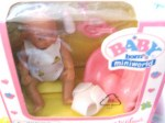 baby born miniworld doll a