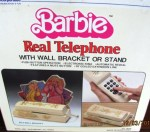 barbie real telephone