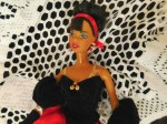 barbie red black avon tops