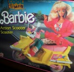 barbie scooter box