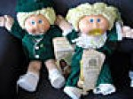 cabbage patch twins green