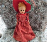 dc fashion doll red