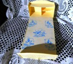 doll bed blue print