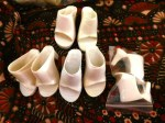 doll shoes white 3