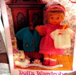 doll wardrobe view
