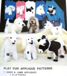 flat fur applique sonrise