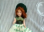 irish doll top view