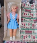 italy lala blonde blue pink dress main