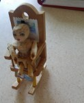 mini wood doll