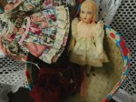porcelain doll tag case d