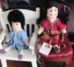refugee dolls