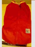 roots red main view raincoat