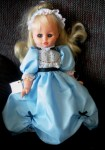 storybook doll in blue effanbee