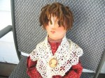 whimsy artist doll face view