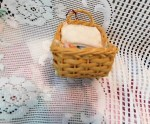 wicker doll carriage 2 dolls end