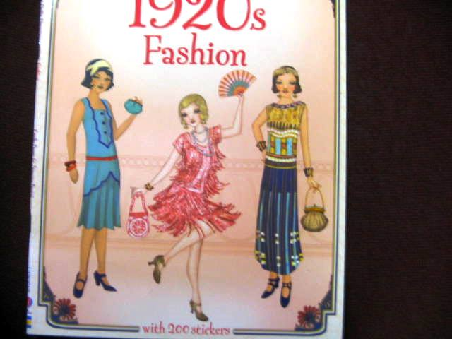 1920s Usborne Historic 200 Sticker Dolly Dressing Book Unused Paper Dolls Not Barbie
